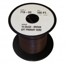 40-2-113         100'  16-GAUGE BROWN PRIM