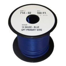 40-2-122         100'  14-GAUGE BLUE  PRIM