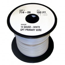 40-2-126         100'  14-GAUGE WHITE PRIM
