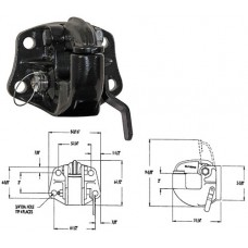 44-PH45  45 TON HEAVY DUTY PINTLE