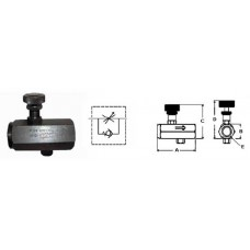 45-FV38          FLOW CONTROL VALVE  3/8in.