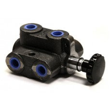 45-MDS           HYDRAULIC SELECTOR VALVE 6 PORT 2 POSITION
