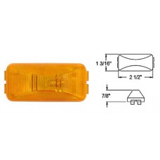 49-A-91AB        AMBER SEALED 1-BULB MINI