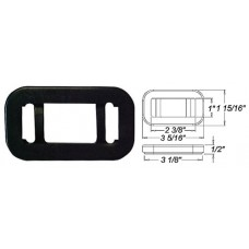 49-A-91GB        RECTANGLE  GROMMET FLUSH