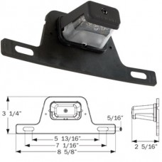 49-LPL-55CB      LED LICSENSE PLATE LIGHT