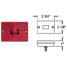 49-MC-36RB       RED   STUD  MOUNT 1-BULB
