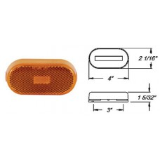 49-MC-38AB       AMBER OVAL BASE   1-BULB