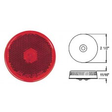 49-MC-57RB       2.5 RED  REFLCT RND SIDE