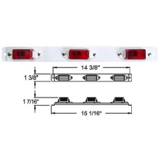 49-MC-99RB       RED 3 IN-A-ROW MC-11RB WT