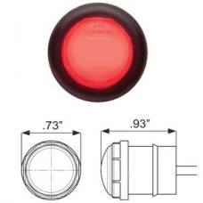 49-MCL-110RKB    GLO RED   3/4in. 2LED KIT