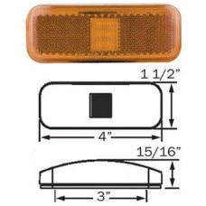 49-MCL-44AB1     1.5*4 AMBER THIN LED M/C