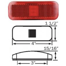 49-MCL-44RB1     1.5*4 RED  THIN LED  M/C