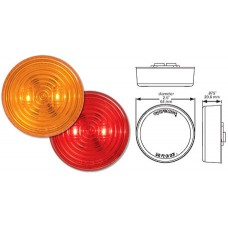 49-MCL-527RB     2.5in. RED LED FLEET LIGHT