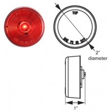49-MCL-56RB      2in. RED   LED FLEET LIGHT