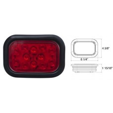 49-STL-34RB      RED RECTANGLE 10 DIODES