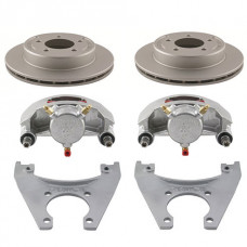 "52-2R10DDD-K     Trailer Disc Brake Kit Dacromet Coated SLIP ON 10"" Rotor"
