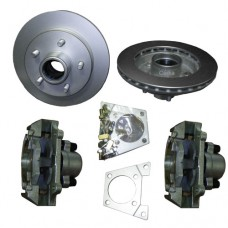 "52-4841400KIT    Titan TWO 10"" Integral Hub/Rotors Complete Kit"