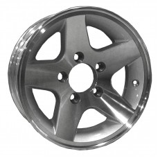 "61-13M5A       13""x5"" 5on4.5 b/c RIM STAR ALUMNM"