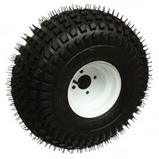 62-22-8-4        22  x 11-8  Knobby ATV Trailer Tire on 4 bolt Wheel