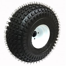 62-22-8-5        22  x 11-8  Knobby ATV Trailer Tire on 5 bolt Wheel