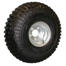 62-22-8-5G       Carlisle 22 x 11- 8 KNOBBY ATV Trailer Tire on Galvanized Wheel