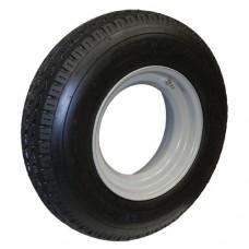 62-8-14.5LT-G14  8-14.5LT  LOAD STAR Trailer Tire on Open Face Wheel