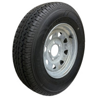 62-R13TDX175     ST175/80R13 C6 5on4.5 Galvanized Spoke (Oxidized)