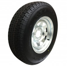 62-TR14W205G  ST205/75R14 Triangle Tire on Galvanized Wheel