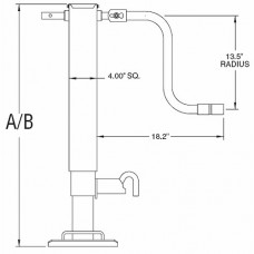 78-TJD12000      12,000# HDS SQ JACK DROP