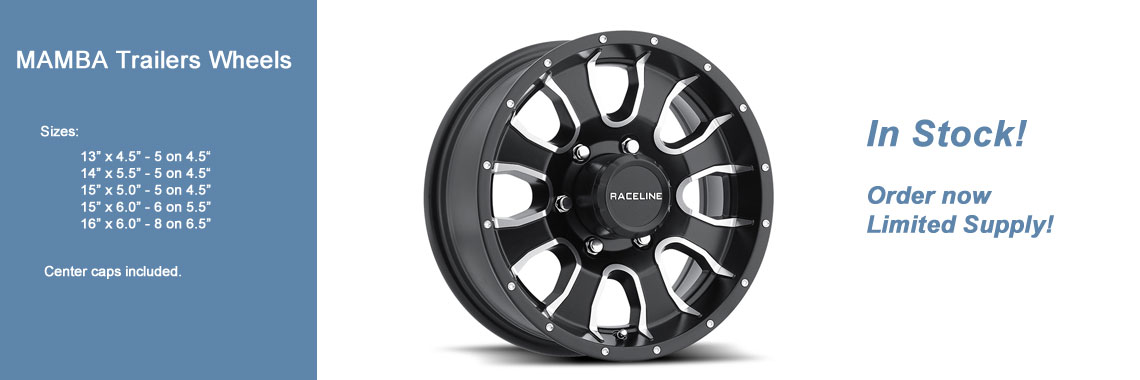 Mamba Trailer wheels