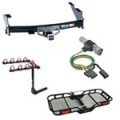 HITCHES, WIRING, BIKE & CARGO CARRIERS