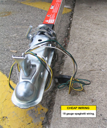 Cheap Trailer Wiring