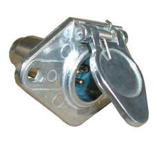 40-82-1016       6 POLE STEEL SOCKET CAR E