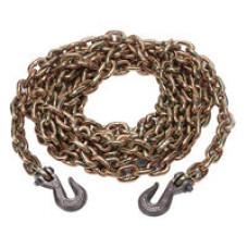 42-10038-16BX    3/8 x 16' G70 Chain w/Grab hooks