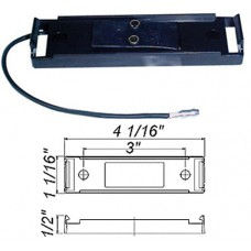 49-A-65PB        1-WIRE PLUG /MOLDED BLACK