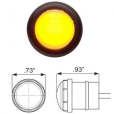 49-MCL-110AKB    GLO AMBER 3/4in. 2LED KIT