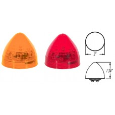 49-MCL-21RB      2in.  RED  LED BEEHIVE