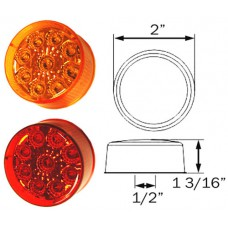 49-MCL-50AB      2in. AMBER miro-flex LED