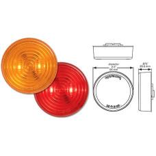 49-MCL-527RB     2.5in. RED LED FLEET LIGHT