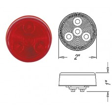 49-MCL-55RB      2in. RED   LED ROUND LIGHT