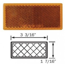 49-RE-10AB       AMBER REFLECTOR STICK ON