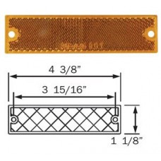 49-RE-15AB       AMBER REFLECTOR STICK ON