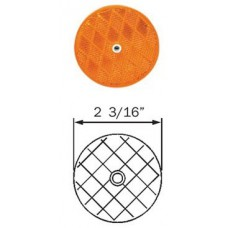 49-RE-35AB       AMBER REFLECTOR CENTRE