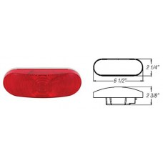 49-ST-70RB       6in. RED OVAL PARK/REARTURN