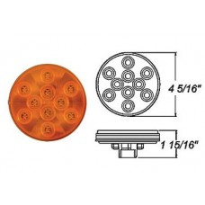 49-STL-43AB      AMBER 4in. LED 10 DIODES