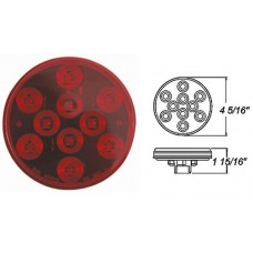 49-STL-43RB      RED  4in.  LED 10 DIODES