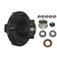"""54-8-259CL       DEXTER 008-259-05  5 ON 4.50"""" BC IDLER HUB WITH 1 1/16"""" BEARING"""