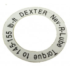 59-092-002-00    1in. WASHER TORQUE LABLE