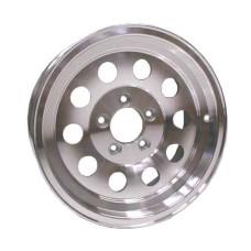 """61-14M5A    14"""" x 5.5"""" 5 bolt  ALUMINUM MOD Trailer Wheel"""