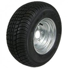 62-205TW65CG  205/65-10 LOADSTAR Trailer Tire & Galvanized Wheel